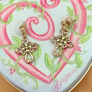 Brighton cross earring
